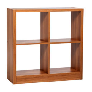 Drayton 4 - Four Cube Storage Unit In Walnut