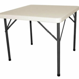 Samey Foldaway Square Steel Table