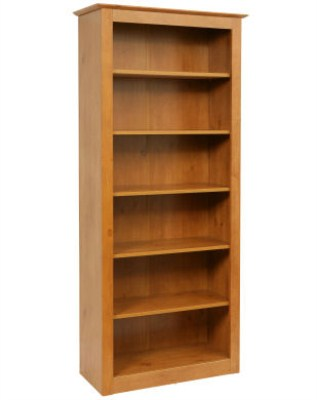Faco Wood Bookshelf - 5 Shelf