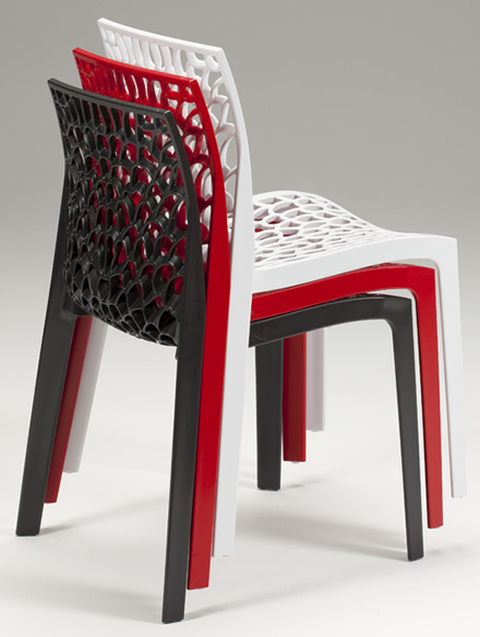 Galax Resin Stackable Chair - Indoor/Outdoor