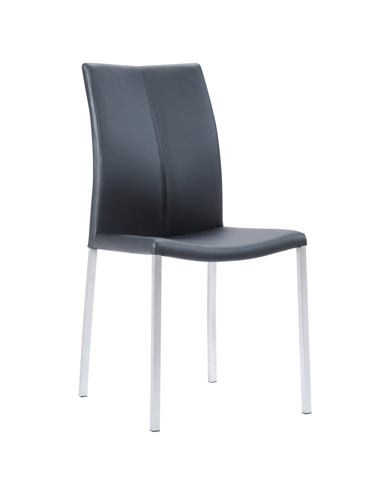 Anstay High Back Kitchen Dining Chair Black