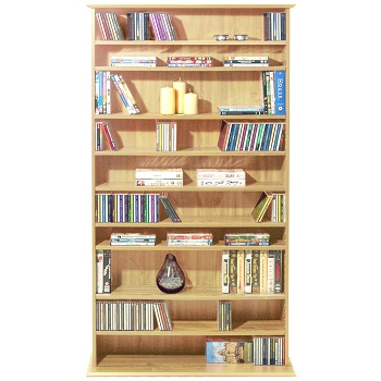 Versatile Free Standing Cabinet Storage Dvd Cds Blu Ray