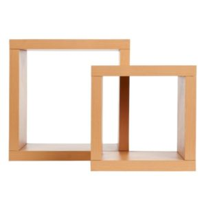 Holly Cube Bookshelf - Beech