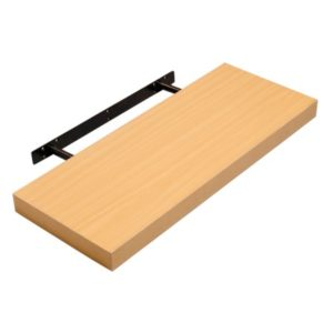 Holly Wood Floating Shelf - MDF - Beech