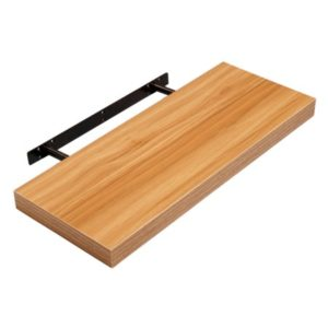 Holly Floating Shelf - Mdf- Walnut - Medium