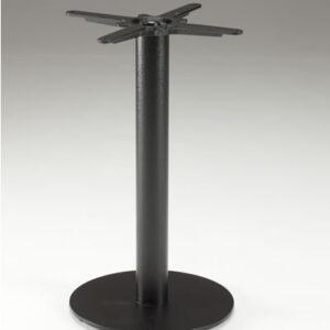 Inba Black Cast Iron And Laminate Table - Indoor/Outdoor