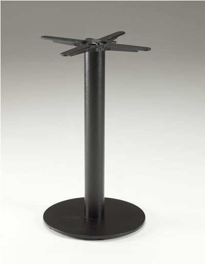Inba Black Cast Iron And Laminate Table - Indoor/Outdoor