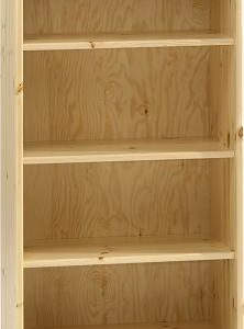 Natural Lacquer Tall Bookcase
