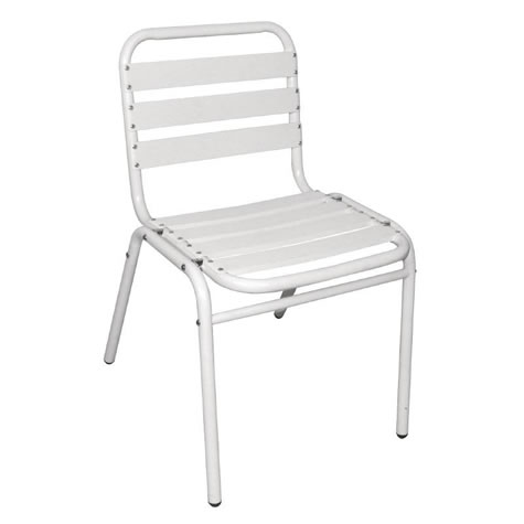 Leit 30 Outdoor/Indoor Bistro Sidechair Aluminium Frame
