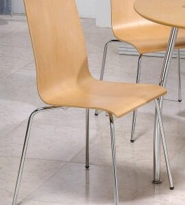 4 Four Tali Beech Kitchen Dining Chairs