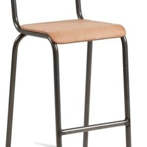 Llano Retro Stacking Vintage Retro Style Bar Stool Fully Assembled