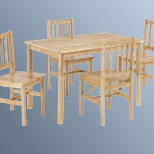 Mila Rectangle Beech Table