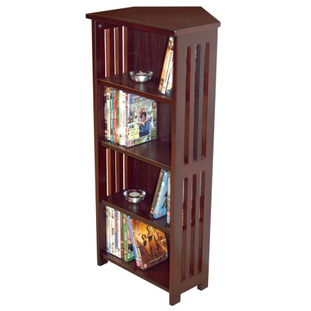 Woodson Wood Display Unit - Corner