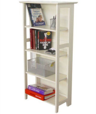 Nano Wood Bookcase - 4 Shelf
