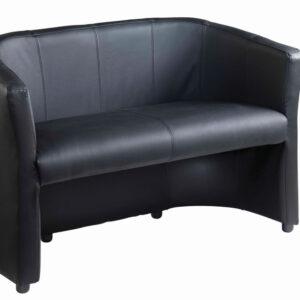 Corotta Stylish Faux Leather 2 Seater Reception Office Sofa