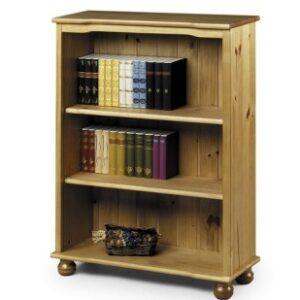 Acco Pine Bookcase - 2 Shelves