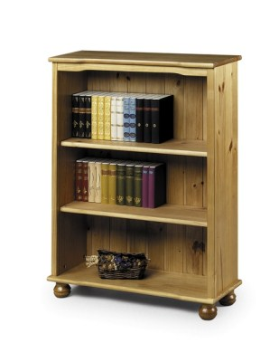 Acco Pine Bookcase - 2 Shelves