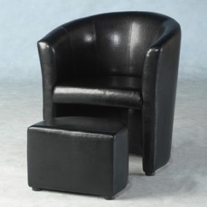 Paco Tub Chair With Footstool