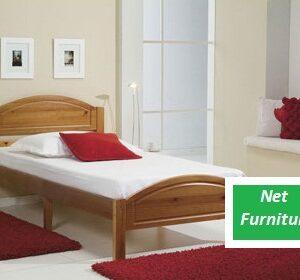"Panamo Pine Bed - 4' / 4'6"""