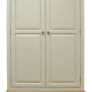 Preston Wardrobe 2 Door 1 Drawer Truffle Cream Painted Country Style