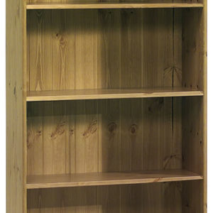 Rosemandy Antique Pine Small Bookcase 3 Shelves Danish Made Quality
