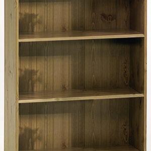 Rosemandy Antique Pine Small Bookcase 2 Shelves Danish Made Quality
