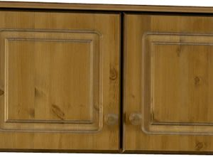 Rosemandy Antique Pine Top Box For 2 Door Wardrobe Danish Made Quality