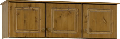Rosemandy Antique Pine Top Box For 3 Door Wardrobe Danish Made Quality