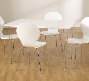 Rox Rectangle Table And 4 Chairs