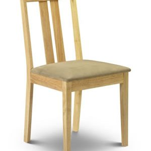 Raffles Dining Chair Maple Fully Assembled