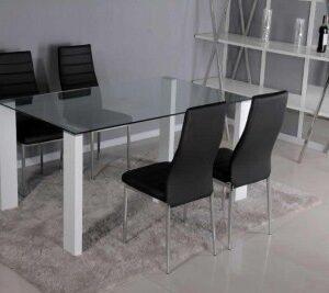 Sal Glass Table - Rectangle
