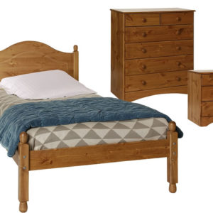 Spacone Pine Or White Single Bed