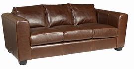 Sadocc Real Leather 3 Seater Sofa