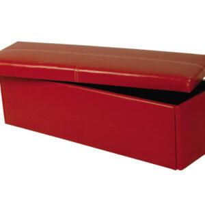 Stainton Ottoman Storage Box Faux Leather
