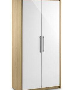 Sadat Oak Wardrobe - 2 Door