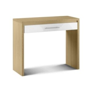 Sadat Oak Dressing Table Fully Assembled Option