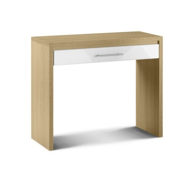Sadat Oak Dressing Table Fully Assembled Option