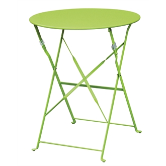 Sally Steel Folding Table In Choice Of Colours - Indoors/Outdoors