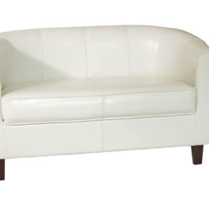 Tempus Cream 2 Seater Tub Sofa Seat Chair Commercial Quality