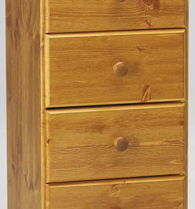 Ontario Pine 5 Drawer Bedroom Chest