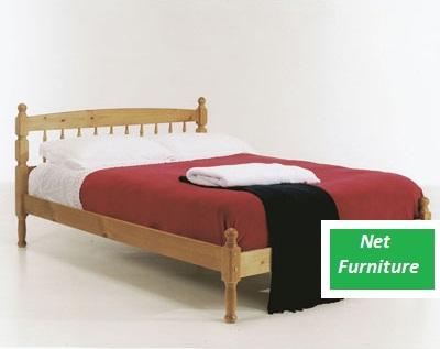 "Torid Pine Bed - 4 / 4'6"" / 5 Ft"