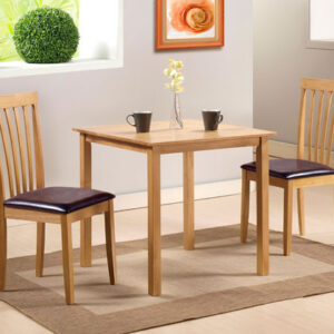 Tali Oak Square Table With Chairs