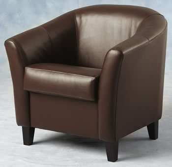 Expresso Brown Tub Chair