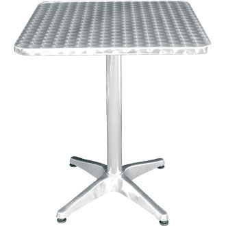 Boley Square Outdoor Table - Aluminium