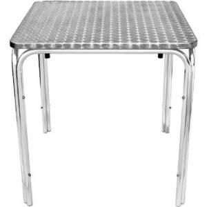 Boley Square Outdoor Stackable Table - Aluminium