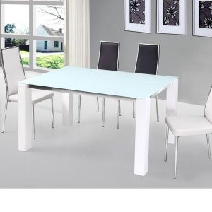 Venti Chrome And Glass Table And / Or Padded Chairs