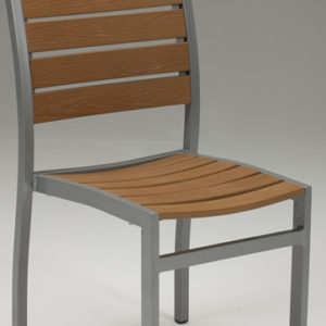 Villi Stackable Tekwood Chair - Indoor/Outdoor