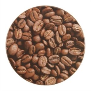 Tagi Coffee Bean Design Round Table Top - Werzalit