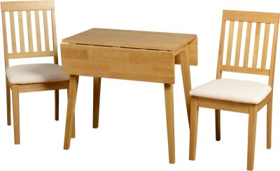 Wankara Oak Rectangle Extending Table And 2 Chairs
