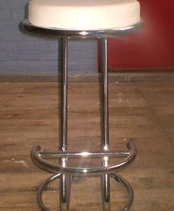 Ziper Classic Kitchen Bar Stool Z Shape Padded Seat